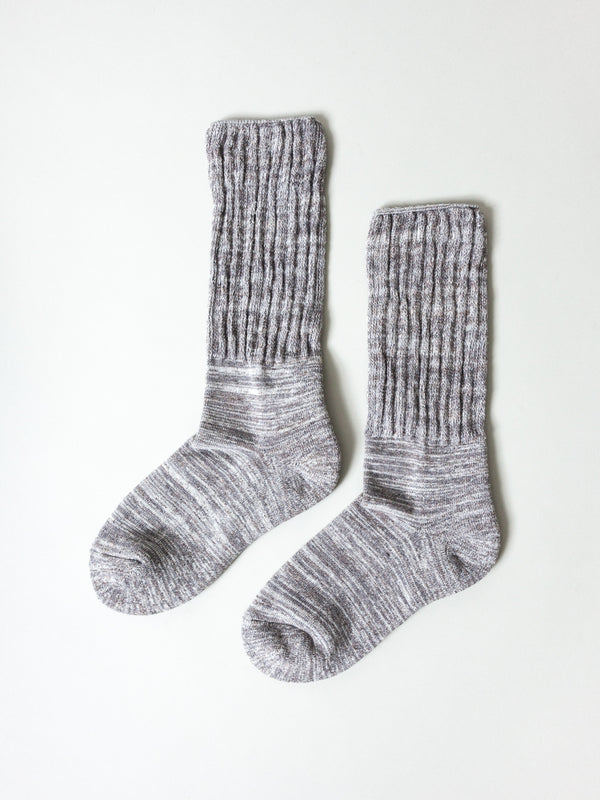 Mekke Socks, Heather Grey
