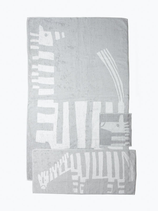 Animal Towel, Zebra