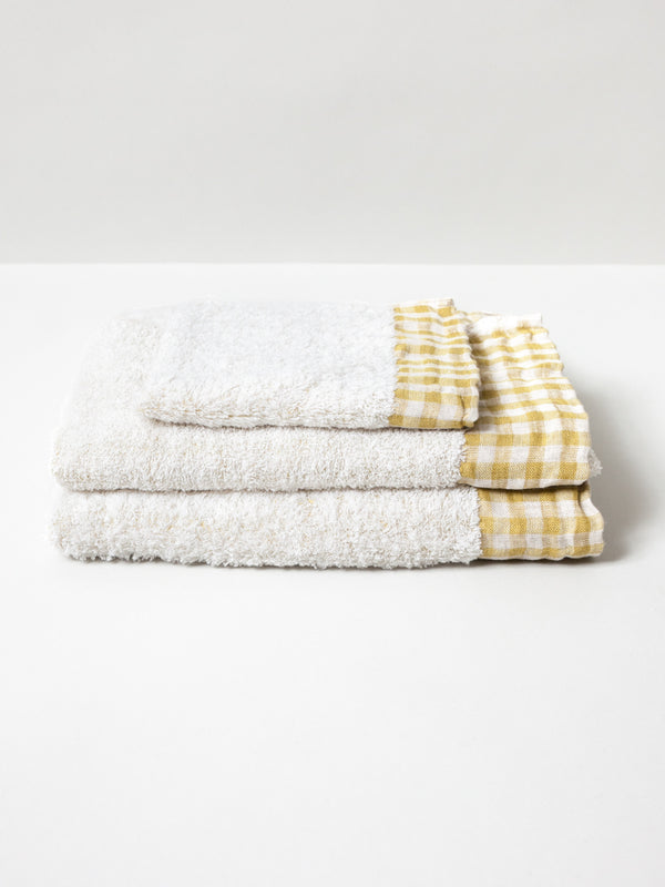 Lino Towel, Yellow