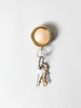Timbre WAKKA Key Holder, Gold/Maple