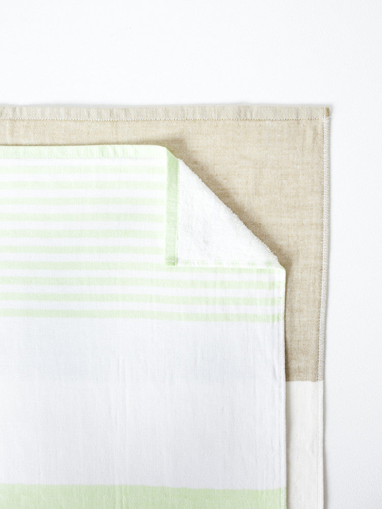 Tri-Color Chambray, Green