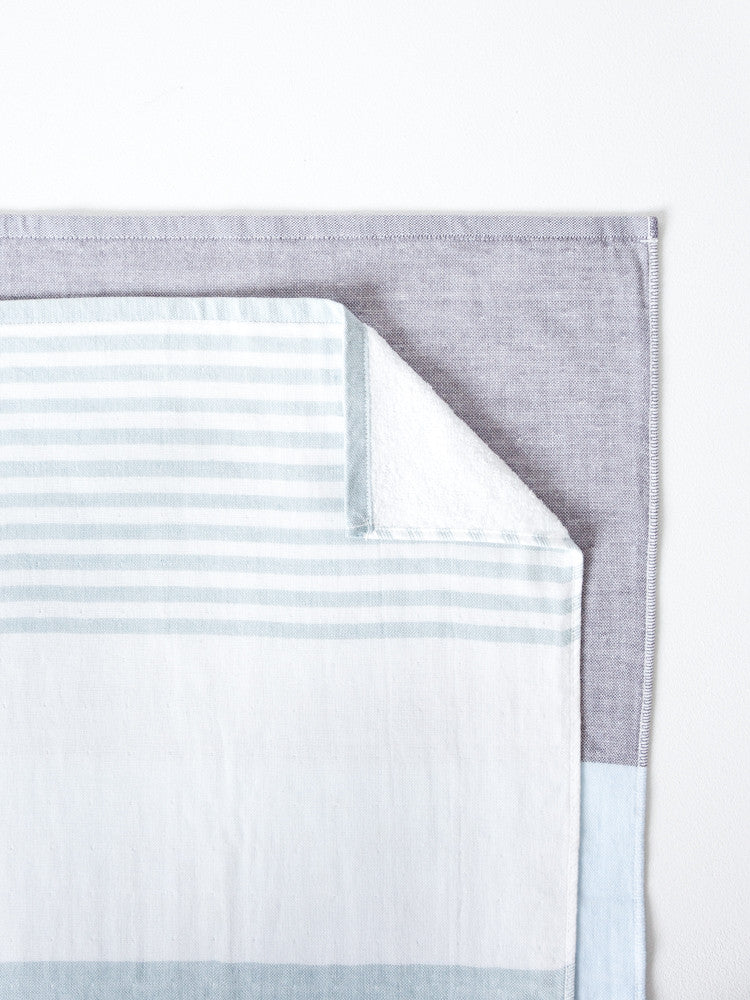 Tri-Color Chambray, Grey