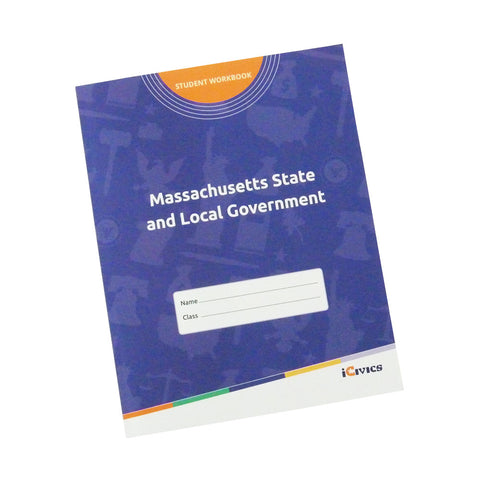 Massachusetts State and Local Government Student Workbook-Digital & Fillable