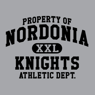 Nordonia Property of Athletic Dept. - Sports Gray Tee
