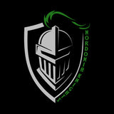 Nordonia Knight on Shield - Black Tee