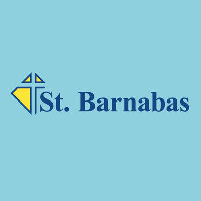 St. Barnabas Uniform - Short Sleeve Jersey Polo - Lt Blue