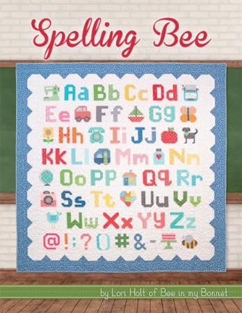 Spelling Bee Pattern Book by Lori Holt of Bee in My Bonnet