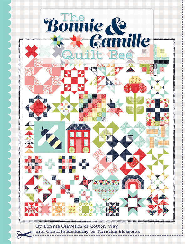 The Bonnie & Camille Quilt Bee Pattern by It's Sew Emma