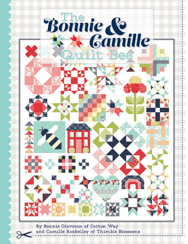 PREORDER The Bonnie & Camille Quilt Bee Pattern Book by It's Sew Emma