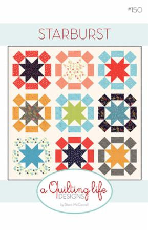 Starburst Quilt Pattern by Sherri McConnell of A Quilting Life Designs