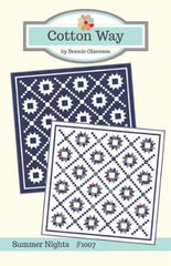 Summer Nights Quilt Pattern by Cotton Way