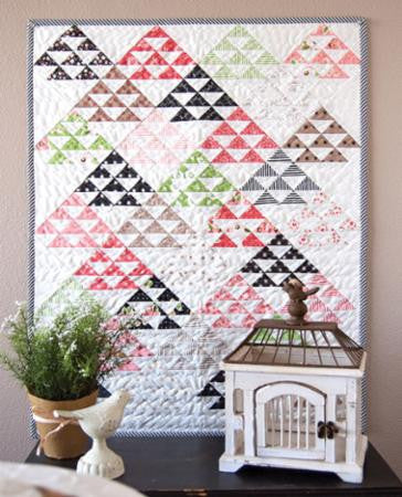 Homestead Mini Quilt Pattern by Lella Boutique