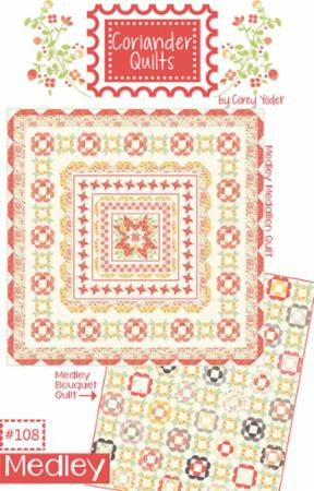 Medley Quilt Pattern by Coriander Quilts