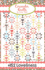 Loveliness Quilt Pattern by Coriander Quilts