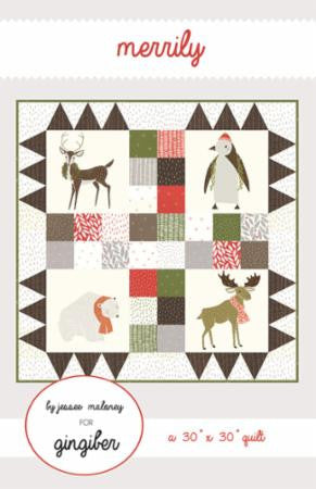 Merrily Quilt Pattern by Gingiber