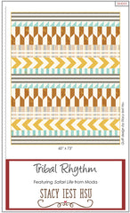 Tribal Rhythm Quilt Pattern by Stacy Iest Hsu