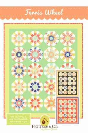 Ferris Wheel Quilt Pattern by Fig Tree & Co.