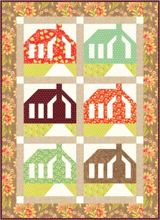 Homestead Mini Quilt Pattern by Fig Tree Quilts