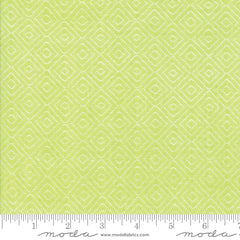 Bonnie & Camille Wovens Green Diamond Yardage by Bonnie & Camille for Moda Fabrics