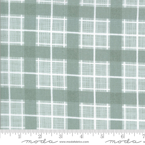 Juniper Frost Plaid Yardage by Kate & Birdie for Moda Fabrics