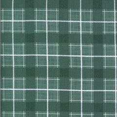 Juniper Brushed Flannel Juniper Plaid Yardage by Kate & Birdie for Moda Fabrics