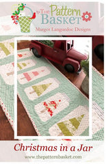 Christmas In a Jar Table Runner Pattern by The Pattern Basket