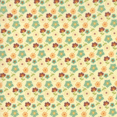 Last Bloom Snow Mist Mixed Bouquet Yardage by Sandy Gervais for Moda Fabrics