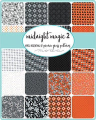 Midnight Magic 2 Charm Pack by April Rosenthal for Moda Fabrics
