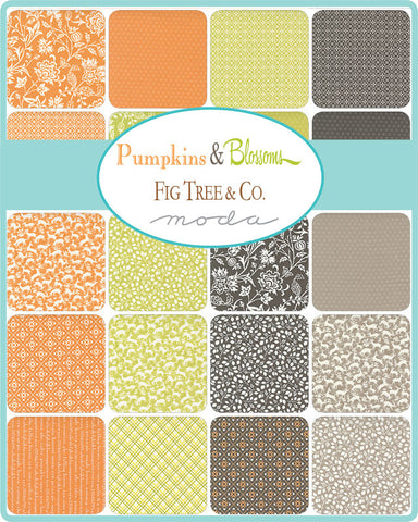Pumpkins & Blossoms Layer Cake by Fig Tree & Co. for Moda Fabrics