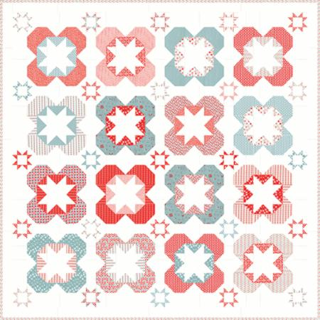 Surrounded By Stars Quilt Pattern by Pieces From Heart