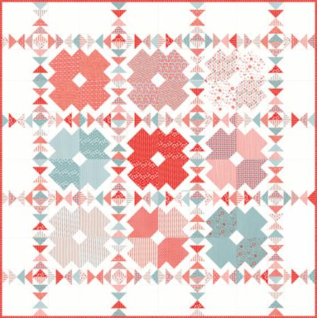Tic Tac Toe Quilt Pattern by Pieces From Heart