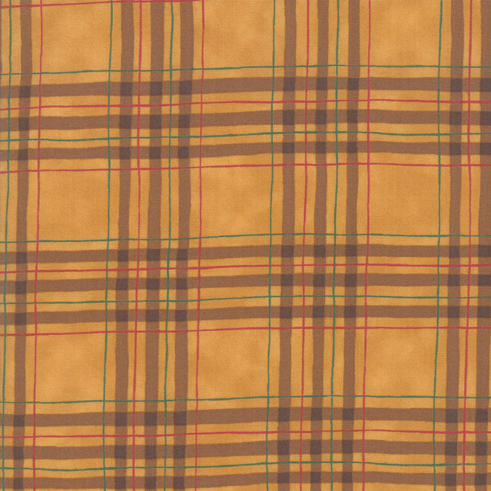 Explore Gold Plaid Yardage by Deb Strain for Moda Fabrics