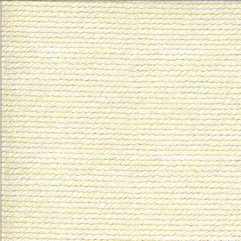 Bee Grateful Parchment Bee Skep Woven Yardage by Deb Strain for Moda Fabrics