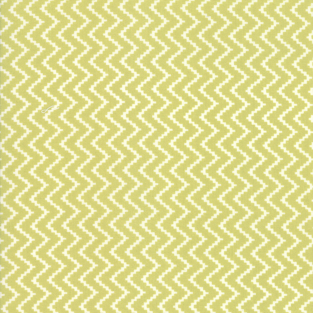 Christmas Figs II Mistletoe Zigzag yardage by Fig Tree for Moda Fabrics