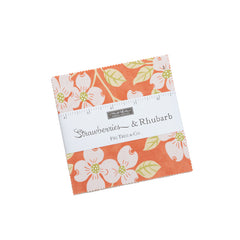 Strawberries & Rhubarb Charm Pack by Fig Tree & Co. for Moda Fabrics