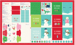 Snow Day Multi Panel by Stacy Iest Hsu for Moda