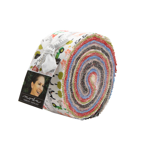 On The Farm Jelly Roll by Stacy Iest Hsu for Moda Fabrics