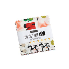 On The Farm Mini Charm Pack by Stacy Iest Hsu for Moda Fabrics