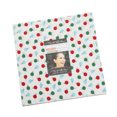 Holiday Essentials Christmas Layer Cake by Staci Iest Hsu for Moda Fabrics
