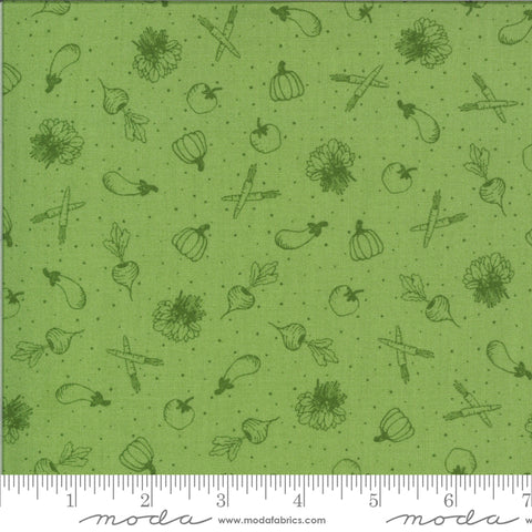 Homestead Willow Veggies Yardage by April Rosenthal for Moda Fabrics