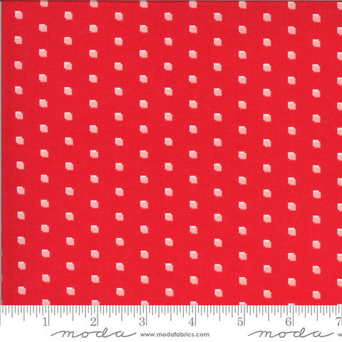 Homestead Apple Squares Yardage by April Rosenthal for Moda Fabrics