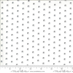 Homestead Cloud Fog Squares Yardage by April Rosenthal for Moda Fabrics