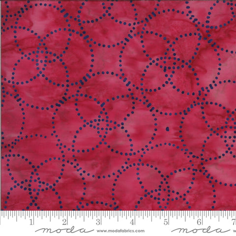 Confection Batiks Strawberry Shimmer Yardage by Kate Spain for Moda Fabrics