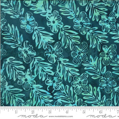 Confection Batiks Blue Raspberry Mayleen Yardage by Kate Spain for Moda Fabrics