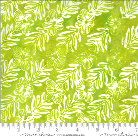 Confection Batiks Lime Mayleen Yardage by Kate Spain for Moda Fabrics