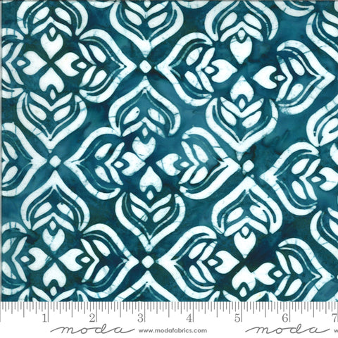 Confection Batiks Blue Raspberry Larkspur Yardage by Kate Spain for Moda Fabrics
