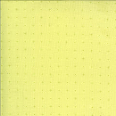 Apricot & Ash Light Lime Dotty Plus Yardage by Corey Yoder for Moda Fabrics