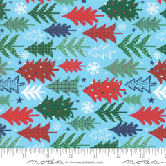 Jolly Season Frost Trees yardage by Abi Hall for Moda Fabrics