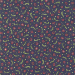 Harper's Garden Navy Blooms Yardage by Sherri & Chelsi for Moda Fabrics
