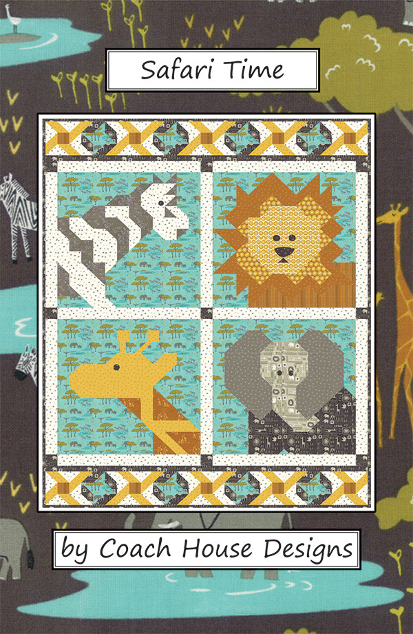 Safari Time Quilt Pattern by Coach House